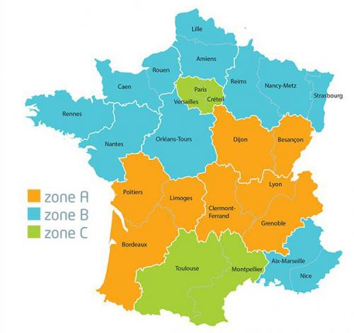 Carte zones copie